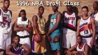 NBA Draft 1996 - 20 Anniversary Special : Players Career Highlight ft. AI, Kobe Nash etc