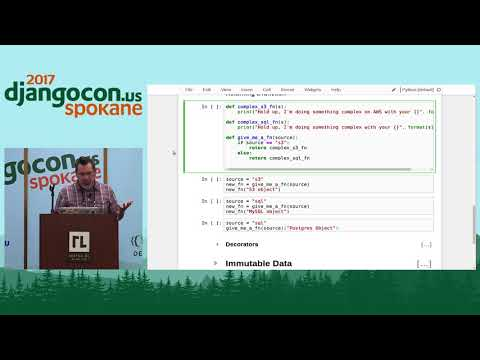 DjangoCon US 2017 - Functional Programming in an Imperative