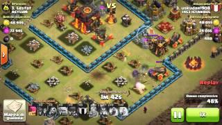 Clash of Clans War - TH10 Defense Lestat