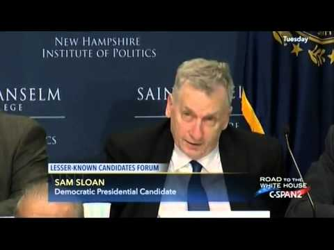 Sam Sloan Democratic Presidential Candidate on C-SPAN2