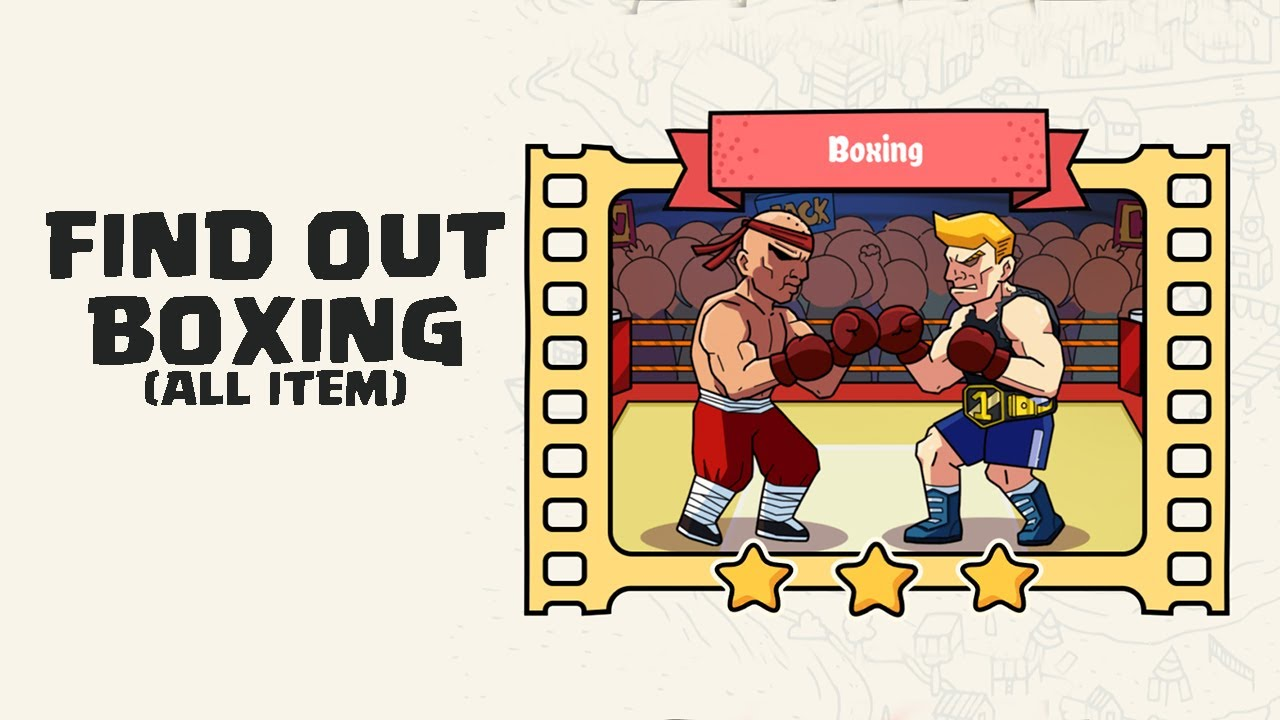 Find Out Boxing Discovery All Hidden Items Youtube
