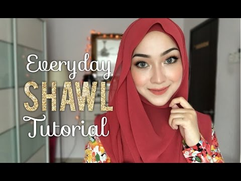 Everyday Shawl Tutorial | 2 Hijab Styles