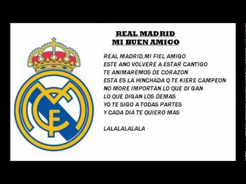 Real Madrid Anthem Lyrics