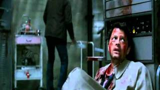 Supernatural - 7x01 - Sam, Dean, and Bobby help Castiel; Castiel wants to make amends