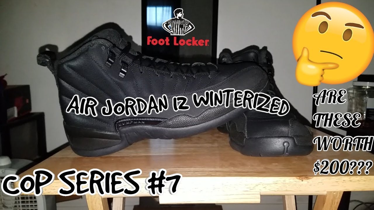 reputable site a3ab0 e9278 Footlocker #AirJordan12 #JordanBrands Cop Series #7: Air ...