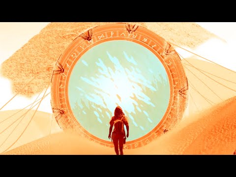ducing the cast of Stargate Origins: Ellie Gall, Connor Trinneer main title style