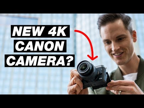 New Canon Mirrorless Camera with 4k Video? — Canon Rumors 2018