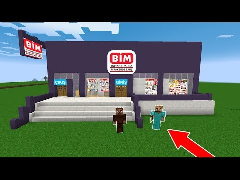 ZENGİN ŞEHRE MARKET YAPTIRDI! 😱 - Minecraft