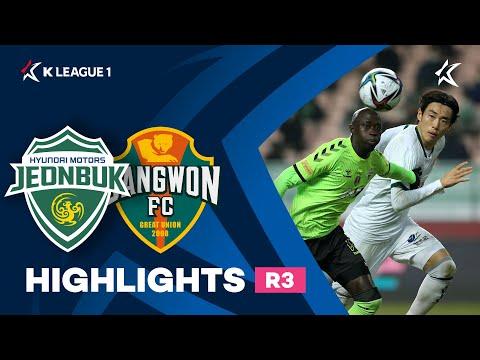 Jeonbuk Gangwon Goals And Highlights