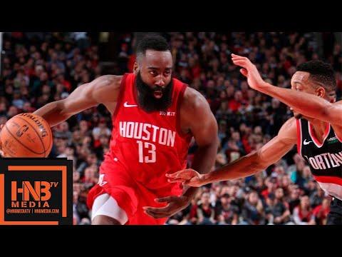 Houston Rockets Vs Portland Trail Blazers Full Game Highlights   01/05/2019 NBA Season