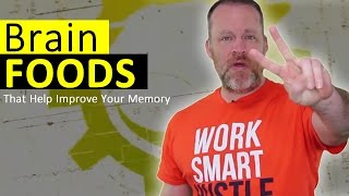 The Best Brain Foods That Helps Increase Your Memory!