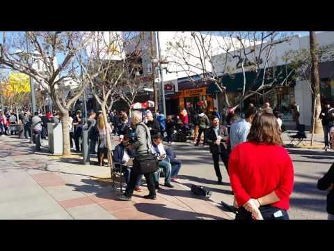 Tesla Store - Santa Monica - Model 3 Pre Order Line