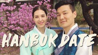 Cherry Blossoms in Korea & Hanbok Date 한복 봄나들이 창덕궁 (자막 CC)