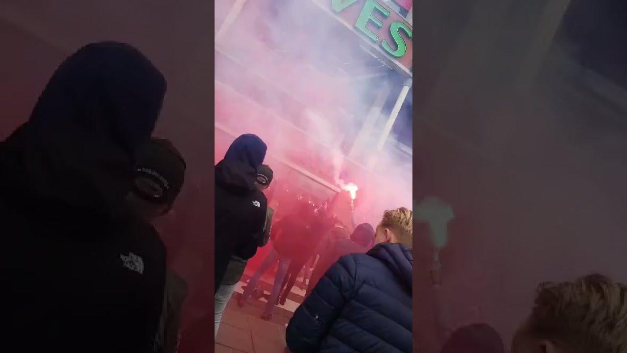 Sfeer voor de wedstrijd FC Twente - Heracles
