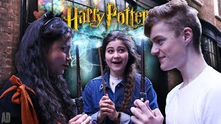 Me, Kelsey Ellison and LaurasAlwaysPottering become real wizards as...