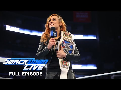 WWE SmackDown LIVE Full Episode, 30 October 2018