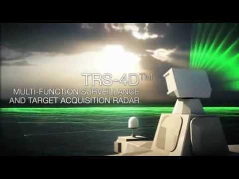 Cassidian TRS-4D Naval Radar - German Navy F125 class Frigates