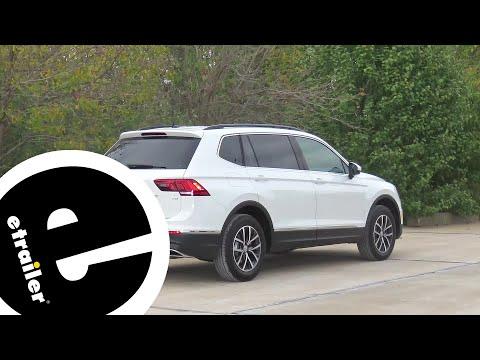 Trailer Hitch Installation - 2018 Volkswagen Tiguan - Curt - etrailer.com