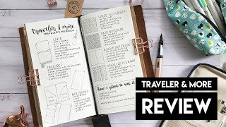 Traveler & More Notebook Review