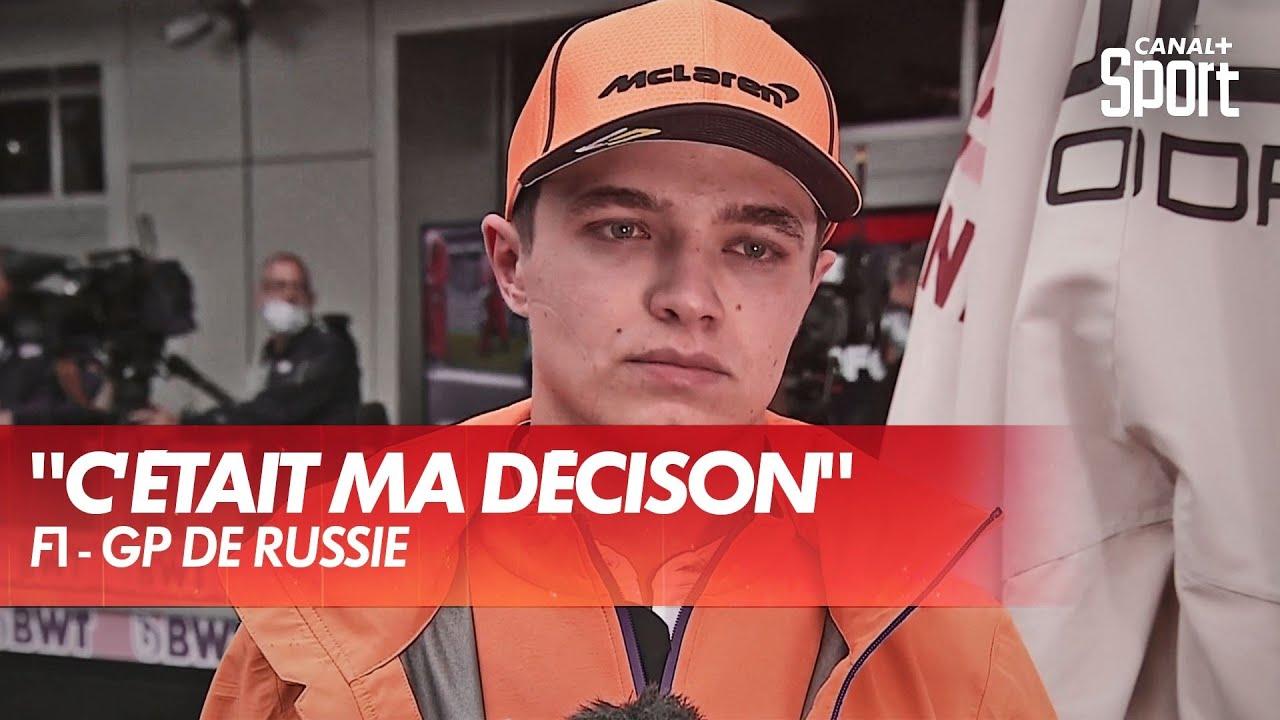 Download La détresse de Norris après le Grand Prix de Russie