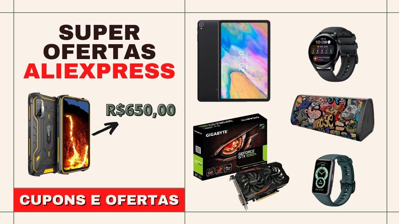 SUPER OFERTAS ALIEXPRESS - 4ª RODADA JULHO - CUPONS E OFERTAS