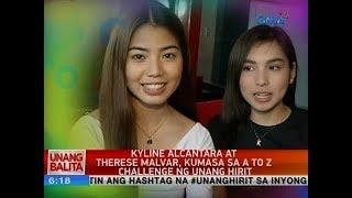 UB: Kyline Alcantara at Therese Malvar, kumasa sa A to Z challenge ng Unang Hirit