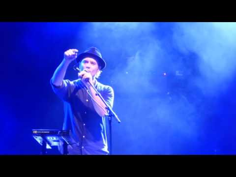 Augustines - Eric Sanderson's Farewell Speech - Farewell Gig Live @ Liverpool Academy - 31-10-2016