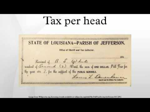 Tax per head