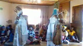 A traditional Xhosa ceremony