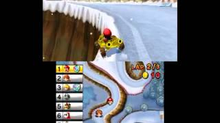 Mario Kart 7 Mirror Mode Leaf Cup