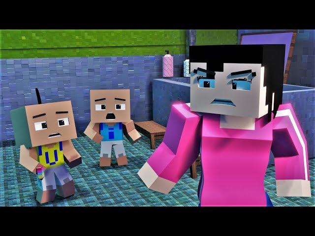 Upin & Ipin - Pensel Ajaib 2 ( Minecraft Animation )