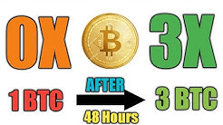 How To 🤔1 BTC To 😱 3 BTC  In 48 hours    with Payment Proof    Live Deposit    Leftworld Crypto