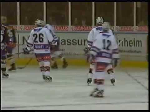 DEL 97-98 Adler Mannheim - Saisonvideo RNF