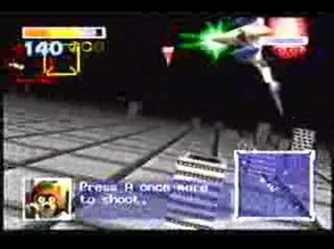 Starfox 64 - Training mode (My Youtube challenge!)