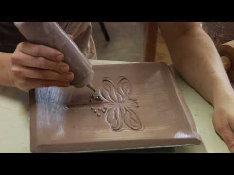 Clay Pottery Slab Building Slip Trailing Clay Decorating