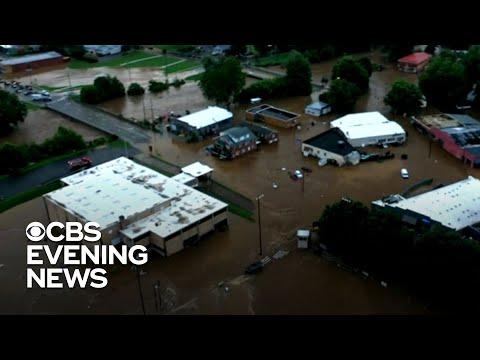 Deadly North Carolina flooding leaves 20 missing