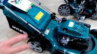 видео Газонокосилки Hyundai