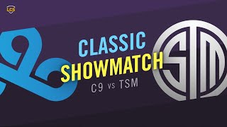 Cloud9 vs Team SoloMid - LCS 2020 Summer Split Classic Showmatch - C9 vs TSM