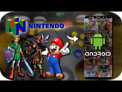 How To Play N64 Games On Your Android 2019 - EASY *UPDATED*