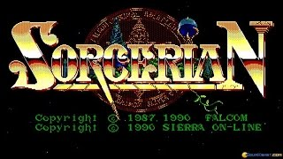 Sorcerian gameplay (PC Game, 1987)