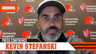 Kevin Stefanski postgame press conference vs. Bengals | Cleveland Browns