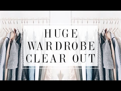 HUGE WARDROBE CLEAR OUT & DECLUTTER | I Covet Thee