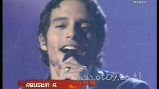 Operacion Triunfo 2009: Gala 9 - AgustinA: Señora de las cuatro decadas YouTube Videos