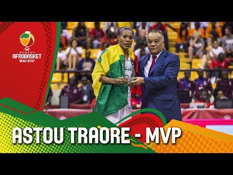 Astou Traore - Senegal - MVP - FIBA Women's AfroBasket 2017