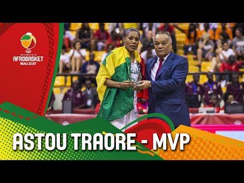 Astou Traore - Senegal - MVP - FIBA Women