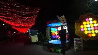 Парк Ривьера вечером  Отдых в Сочи 2017  Развлечения для детей и взрослых в Сочи  Часть 1