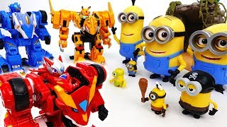 Angry Minions VS Monster Kart Racing Team - ToyMart TV