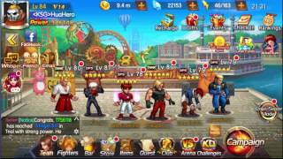 KOF98 UMOL English Events Small Topup, Club Spending and Shermie