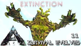 ARK: EXTINCTION - FOREST TITAN TAMING !!! | ARK SURVIVAL EVOLVED E11