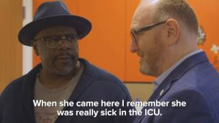 Cedric the Entertainer Adds His Handprint to the Fight to #EndChildhoodCancer (3 min.)